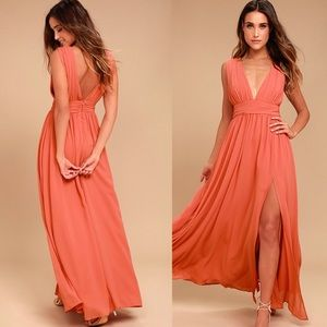 NWT Lulu's Heavenly Hues Maxi